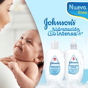 Línea JOHNSONS'S® Hidratación Intensa