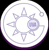 Icono rayos UVA