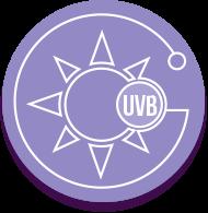Icono rayos UVB