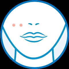 Icono obstruyan los poros