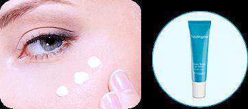 Paso 4: aplica en la zona más delicada de tu cara Hydro Boost Gel Cream