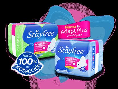 Línea Stayfree® Adapt Plus