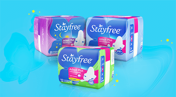 Stayfree® Adapt Plus